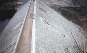 重庆甘宁水库钢筋砼面板堆石坝